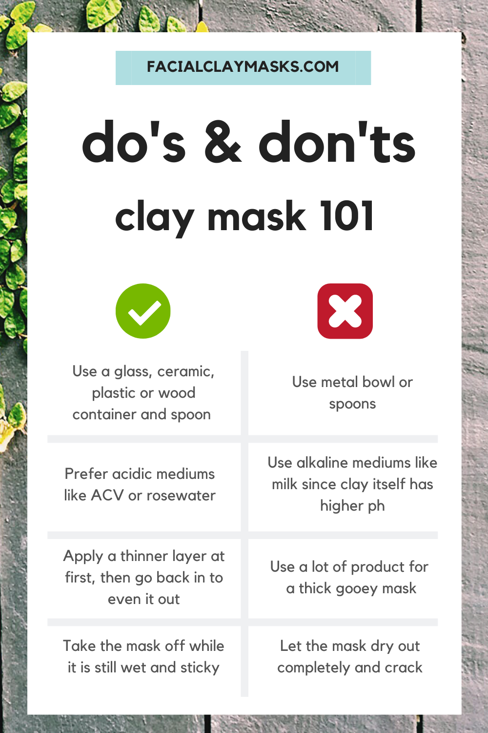 How to Apply Face Mask 3