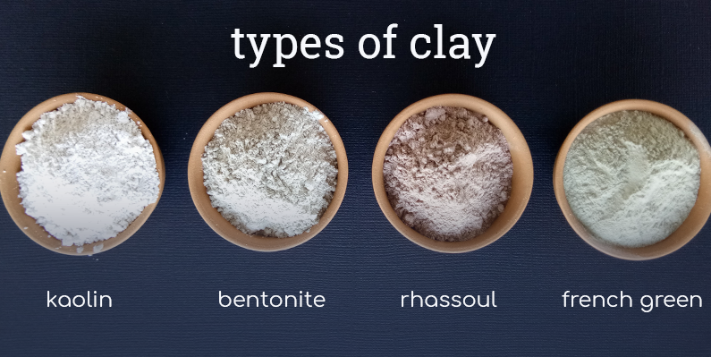 Different Types of Dry Clay Face Masks