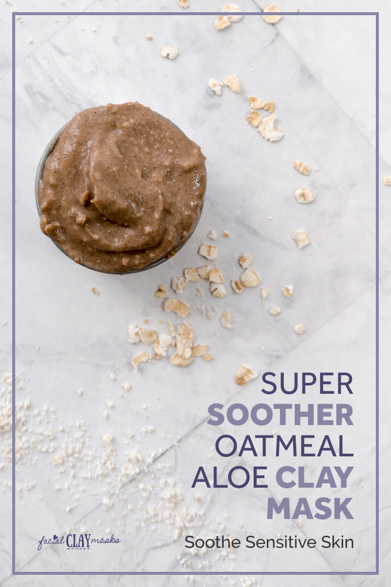 Oatmeal and Aloe Vera Super Soother Mask 1