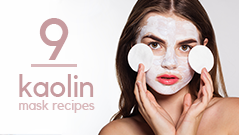 Kaolin Clay Mask Recipes List | Best Kaolin Masks