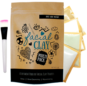 Facial Clay Mask Assortment Pack