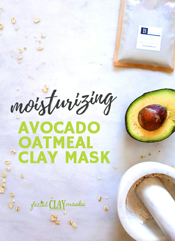 Soothing Avocado Mask + Oatmeal + Clay 8